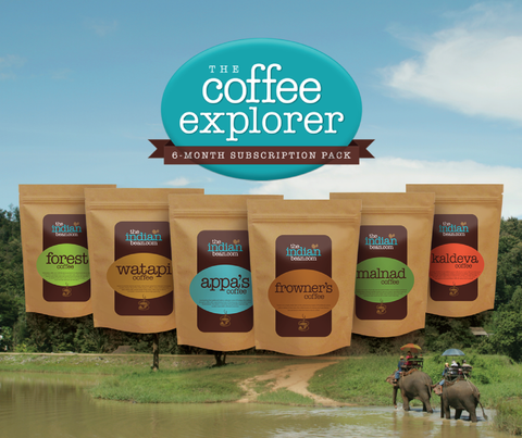 Coffee Explorer - 6 month subscription Pack