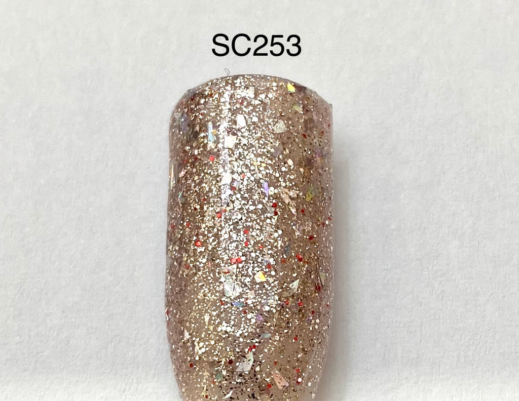 ROSE GOLD FLAKES SC253
