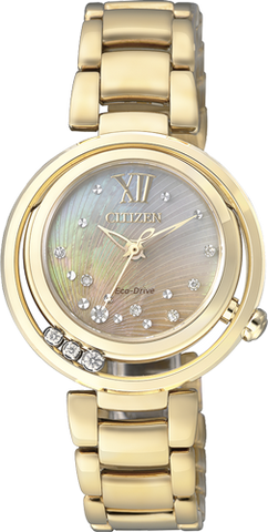 CITIZEN EM0325-55P Lady con diamanti
