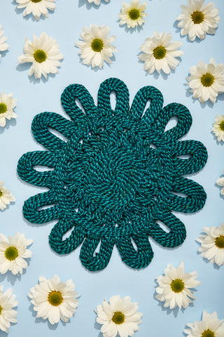 Sunflower Placemat - Blue