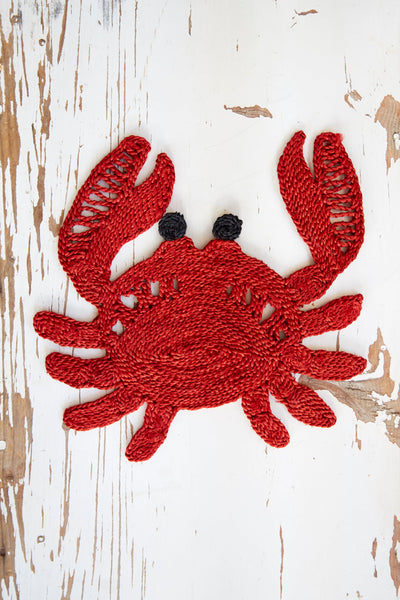 Crab placemat- Red