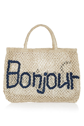 Bonjour - Natural and Navy