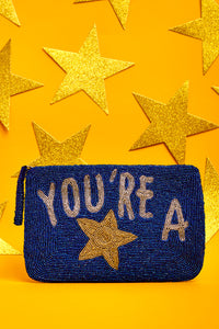 You're a Star- Bead Purse