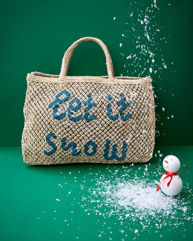 Let it Snow- Natural with Ocean (preorder for delivery end November)