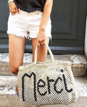 Merci - Natural and Navy