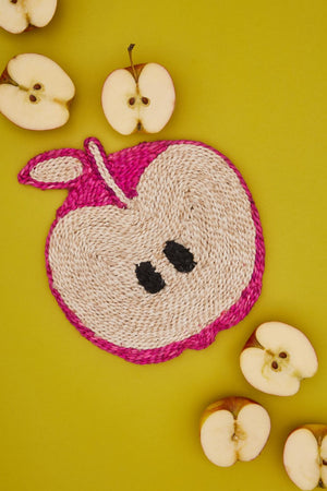 Apple placemat- Pink