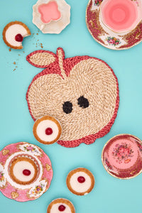 Apple placemat- Peach