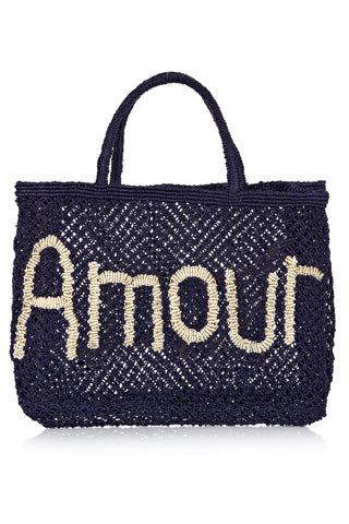 Amour - Navy and Natural