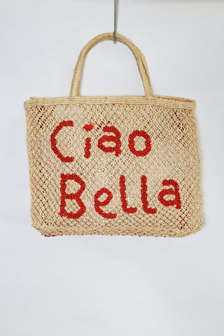 Ciao Bella- Natural with Red