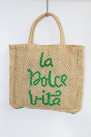 La Dolce Vita- Natural with Green