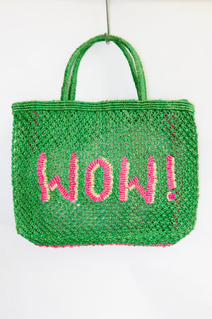 WOW -Green with natural and pink ( back in stock end of May)