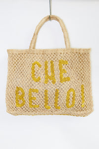 Che Bello- Natural with yellow