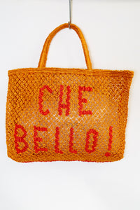 Che Bello- Orange with red