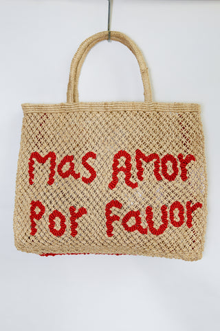 Mas Amor Por Favor-Natural with red