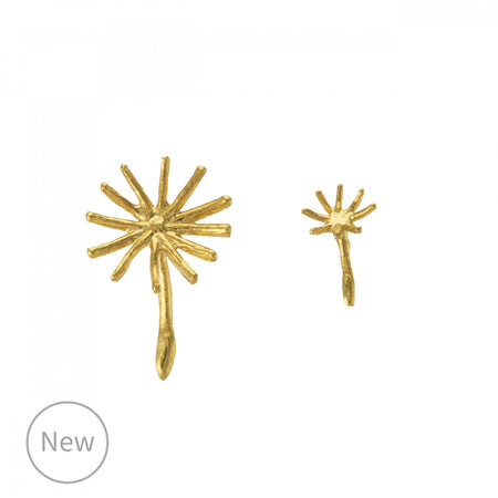 Dandelion Stud Earrings