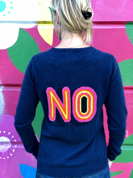 Yes/No Crew Cashmere Jumper