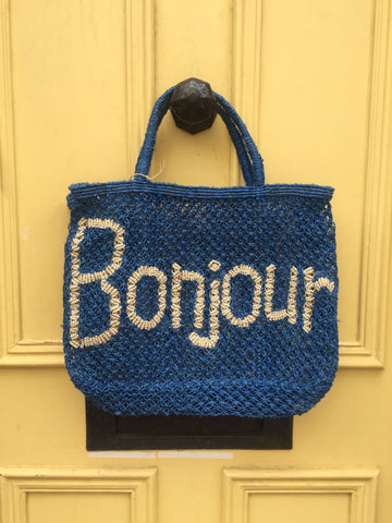 Bonjour - Cobalt and Natural