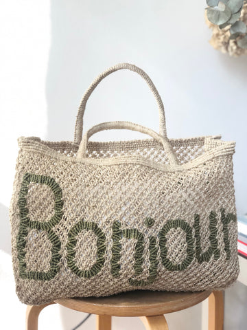 Bonjour - Natural and Khaki