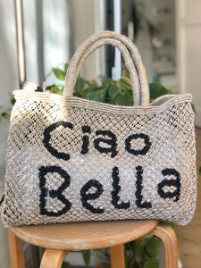 Ciao Bella- Natural with Indigo