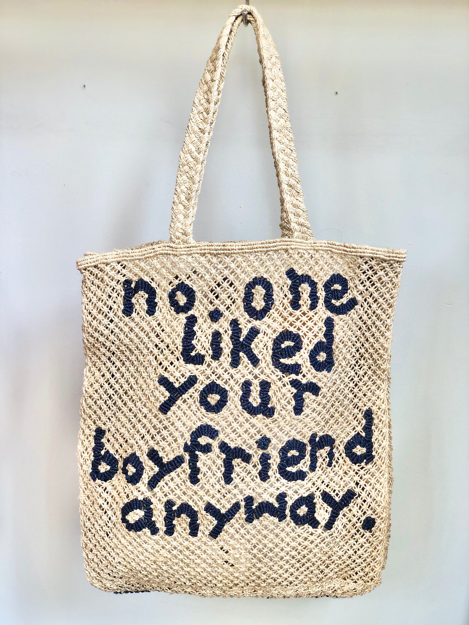 No One Liked Your Boyfriend – Natural with Indigo