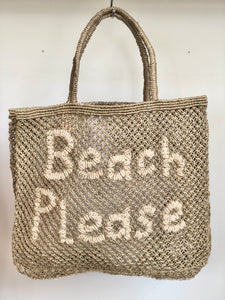 Beach Please – Khaki with Natural