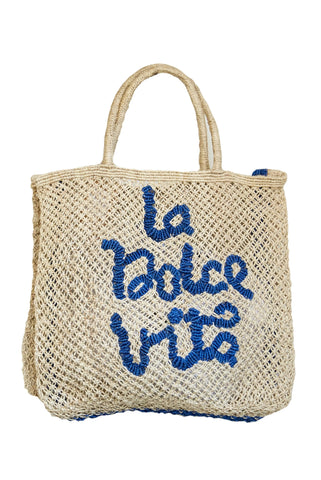 La Dolce Vita- Natural with Cobalt