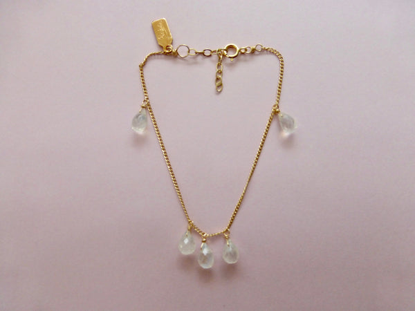 Rue Belle Moonstone Drops Chain Bracelet