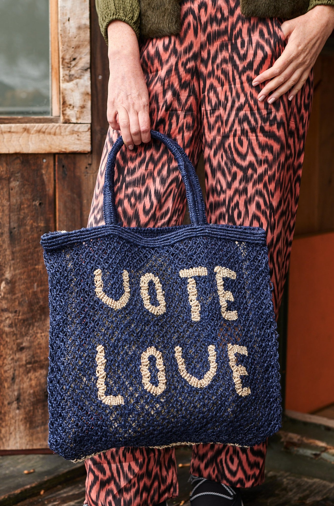 Vote Love – Indigo and Natural