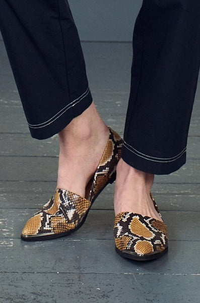 Courtney Python Loafer