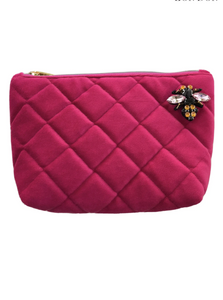 Quilted Nolita bag with pin - Pink