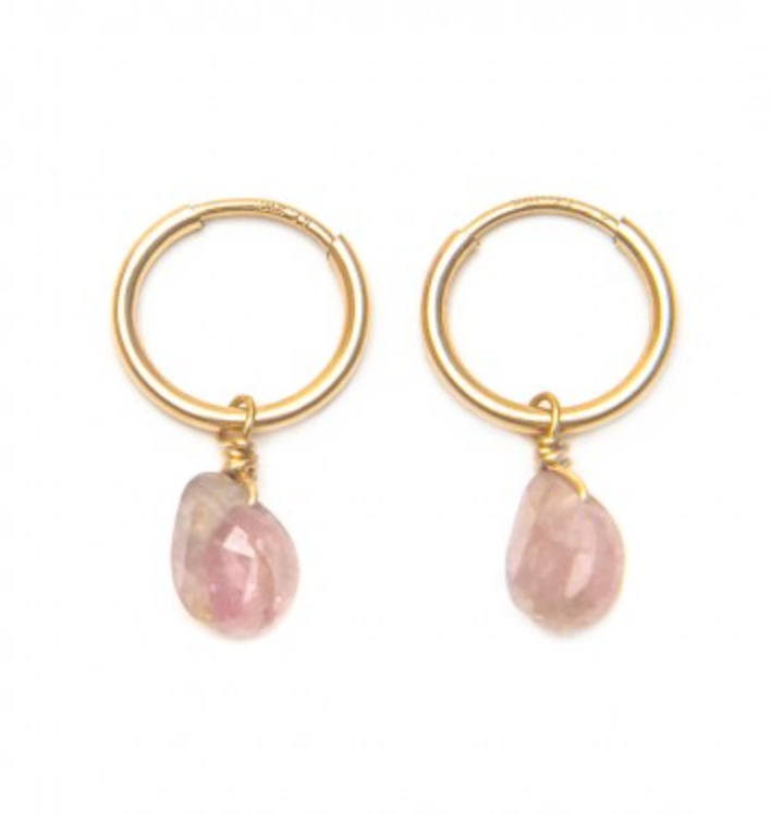 Rue Belle Tourmaline Drop Earrings