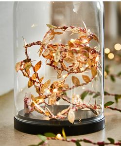 Fairy Lights gold leaf