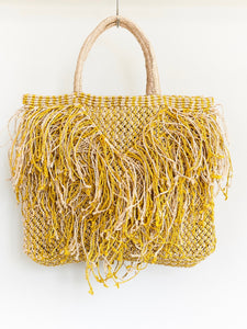 Tassel Bag - Yellow