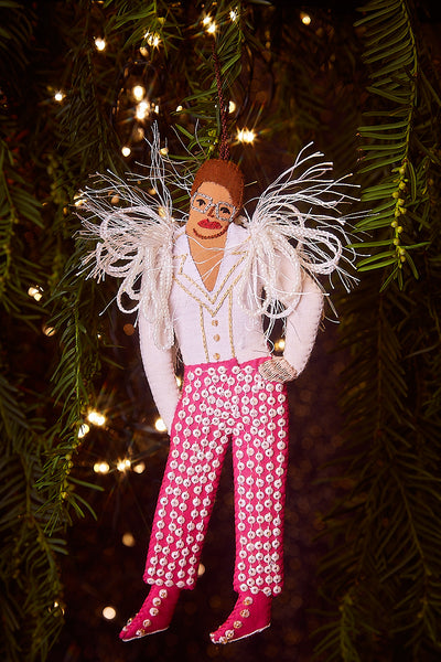 Elton John Christmas Tree Decoration