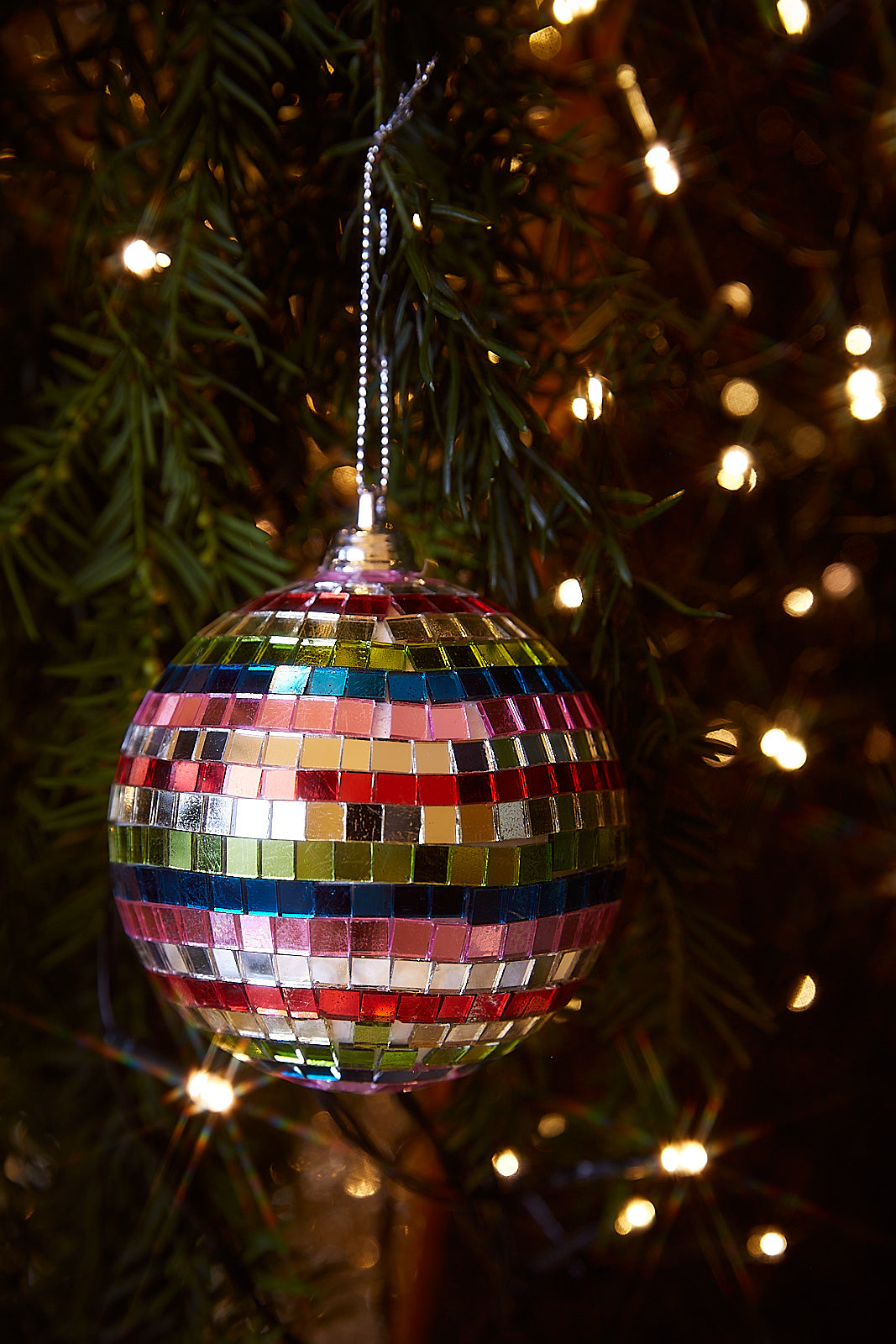 Mirror balls ornament