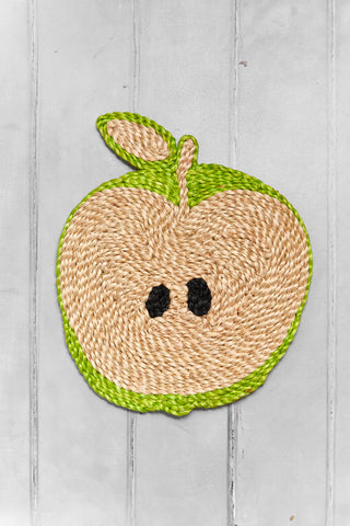 Apple placemat – Light Green