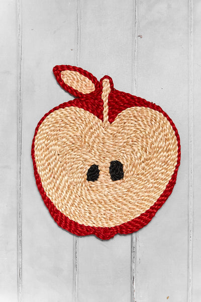 Apple placemat – Red