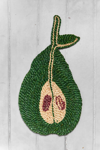 Pear Placemat - Forrest Green