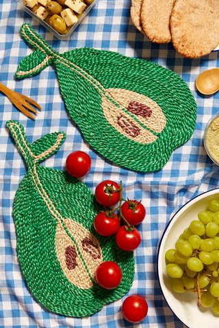 Pear Placemat - Green
