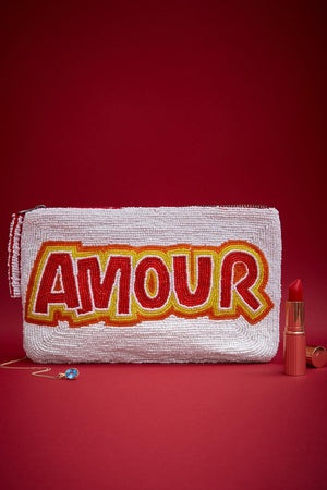Amour Bead Purse
