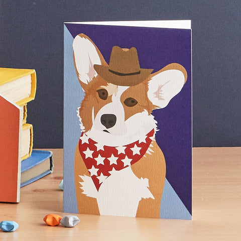 Bailey Corgi Card