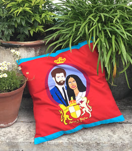 Harry & Meghan Cushion