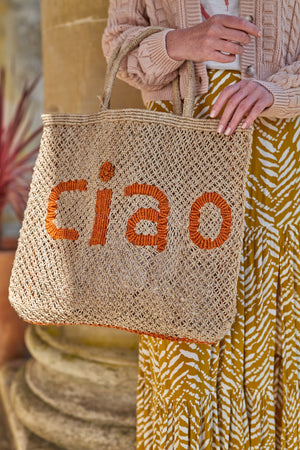 Ciao- Natural with orange