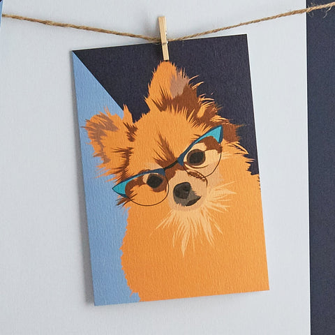 Penelope Dog Card