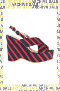 Red Stripe Wedges - Essential