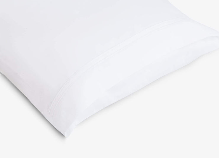 envello Select Sateen pillowcase showing envelope enclosure