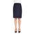 Sigma Straight Skirt Navy