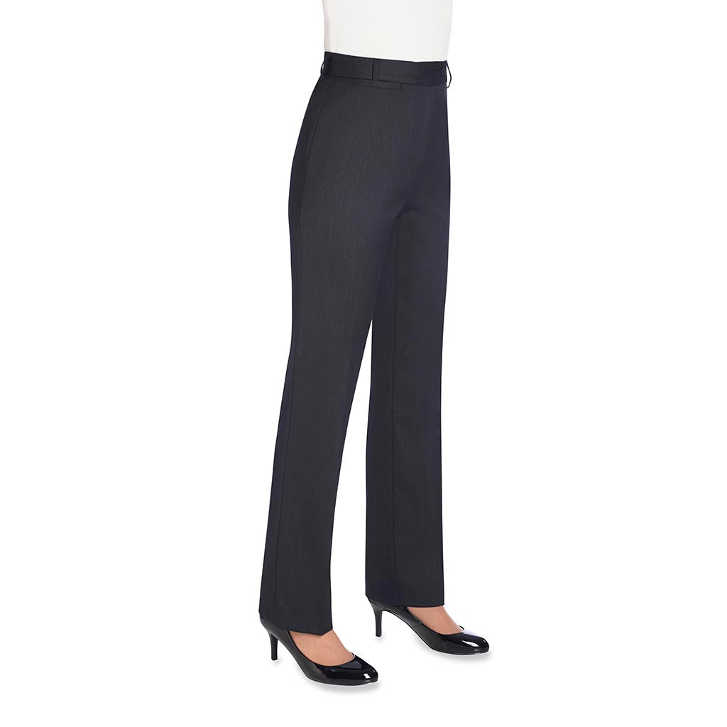 Grosvenor Ladies Trousers Charcoal