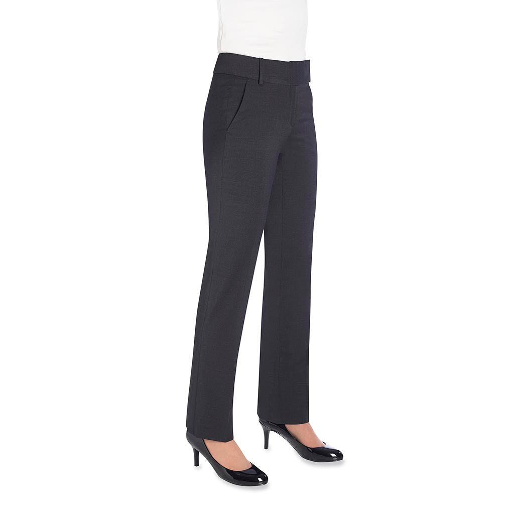 Genoa Ladies Trousers Charcoal