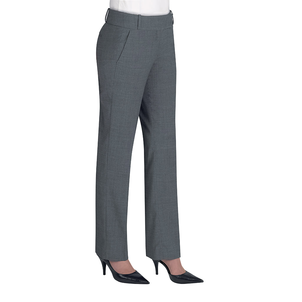 Genoa Ladies Trousers Light Grey